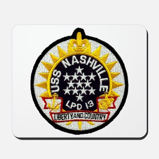 USS Nashville LPD 13 Mousepad