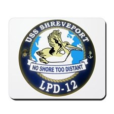 USS Shreveport LPD 12 Mousepad