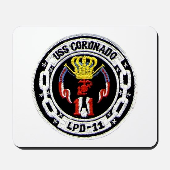 USS Coronado LPD 11 Mousepad