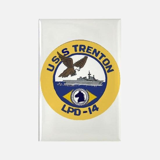 USS Trenton LPD 14 Rectangle Magnet