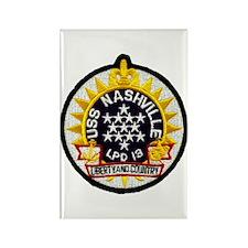 USS Nashville LPD 13 Rectangle Magnet