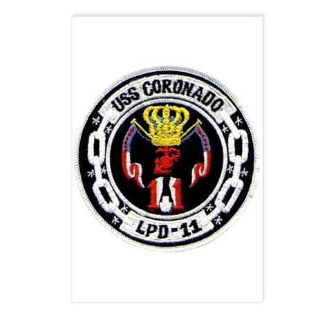 USS Coronado LPD 11 Postcards (Package of 8)