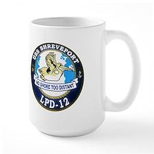 USS Shreveport LPD 12 Mug