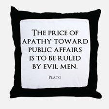 Politics Throw Pillow
