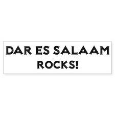 Dar es Salaam Rocks! Bumper Bumper Sticker
