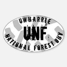 Uwharre National Forest Decal