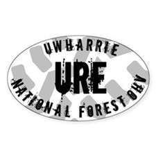 URE Standard Oval Decal