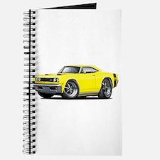 1969 Super Bee Yellow Car Journal