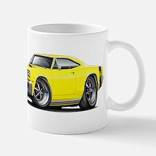 1969 Super Bee Yellow Car Mug