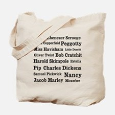 Dickens characters Tote Bag