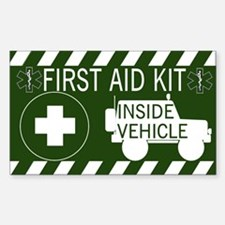 FIRST AID KID INSIDE Decal