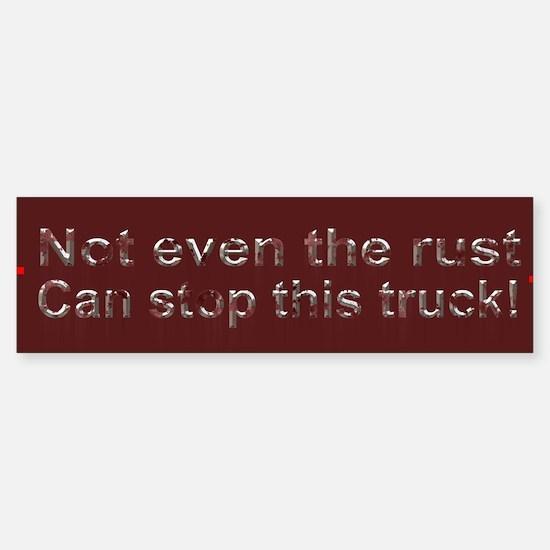 Rust Bumper Bumper Sticker