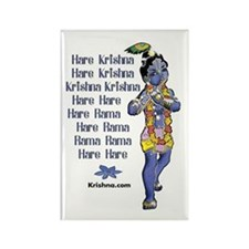 Aghasaura Krishna Rectangle Magnet
