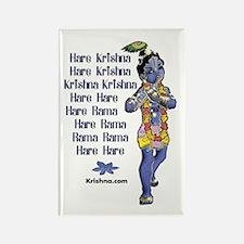 Aghasaura Krishna Rectangle Magnet