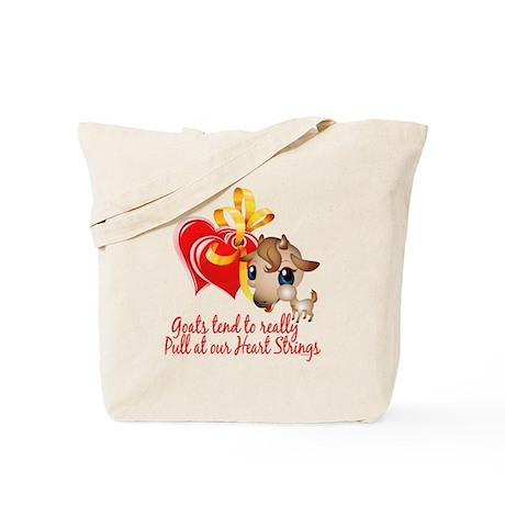 Goat Heart Tote Bag