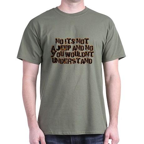 Its not a Heep flames, Dark T-Shirt