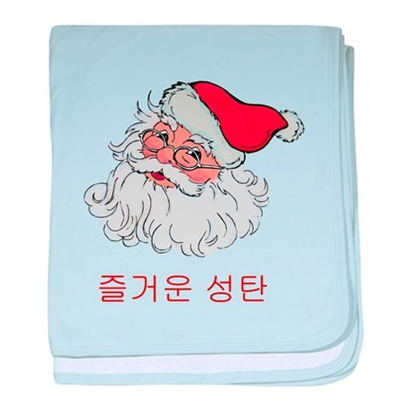 Korean Santa baby blanket