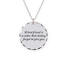 Best Friends Necklace