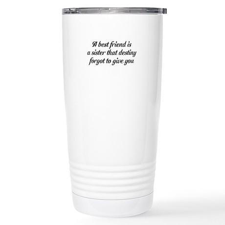 Best Friends Stainless Steel Travel Mug