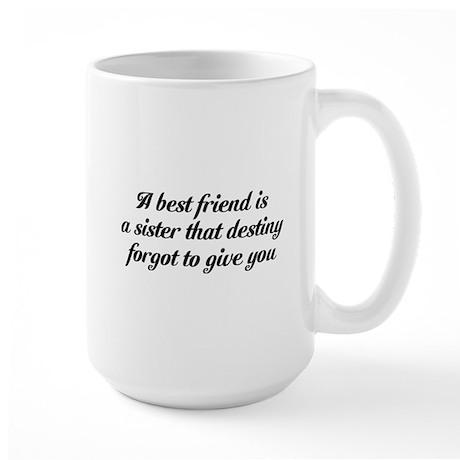 Best Friends Large Mug
