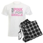 I wear pink for Brielle Men's Light Pajamas