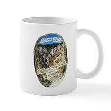 Lower Falls,Yellowstone Park Mug
