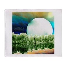 New Moon Rising Throw Blanket