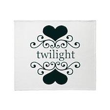Twilight Love Throw Blanket