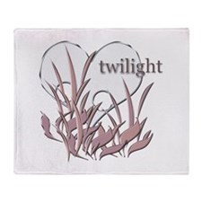 Twilight Heart 3 Throw Blanket