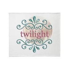 Twilight Moon 3 Throw Blanket