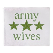 Army Wives Throw Blanket