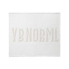 YB NORML Throw Blanket