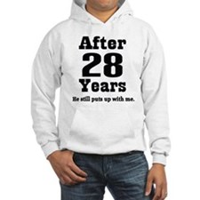 28th Anniversary Funny Quote Hoodie
