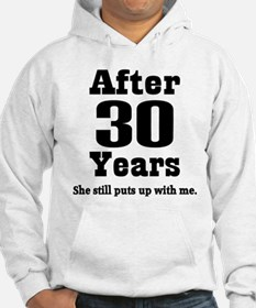 30th Anniversary Funny Quote Hoodie
