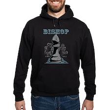 Black Bishop Chess Mate Hoodie