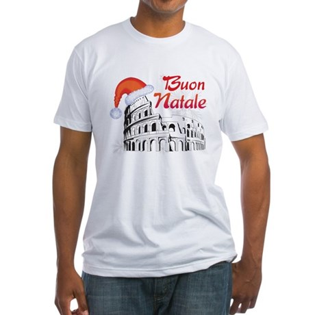 Buon Natale Fitted T-Shirt