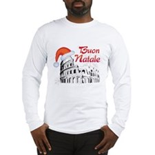 Buon Natale Long Sleeve T-Shirt