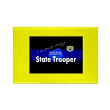 Love My TX State Trooper Magnet