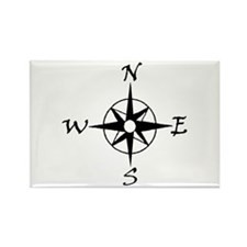 THE MORAL COMPASS™ Rectangle Magnet