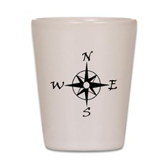 THE MORAL COMPASS™ Shot Glass