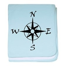 THE MORAL COMPASS™ baby blanket