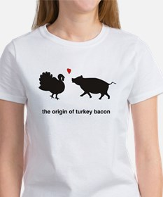Origin of Turkey Bacon Women's T-Shirt