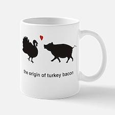Origin of Turkey Bacon Mug