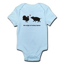 Origin of Turkey Bacon Infant Bodysuit