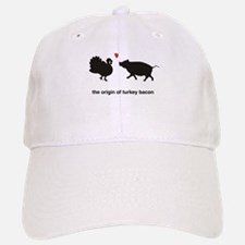 Origin of Turkey Bacon Baseball Baseball Cap