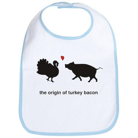 Origin of Turkey Bacon Bib