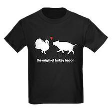 Origin of Turkey Bacon T