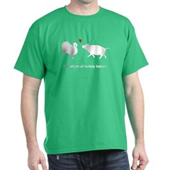 Origin of Turkey Bacon T-Shirt