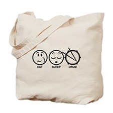 Eat Sleep Drum Tote Bag