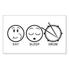 Eat Sleep Drum Decal